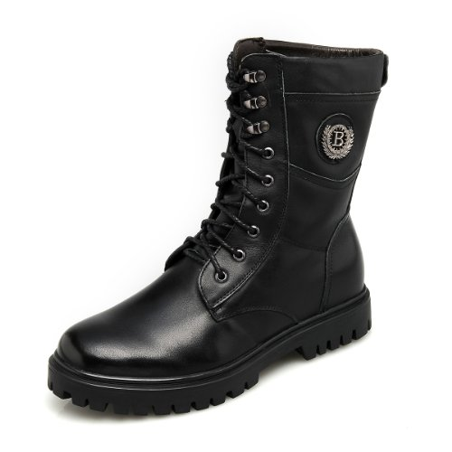 GOG 高哥新款冬季高帮马丁靴军靴 内增高6.5cm 高哥 军靴 B93927
