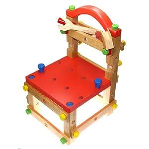 多功能组装工具椅276 纯天然木材 环保油漆 礼盒精装