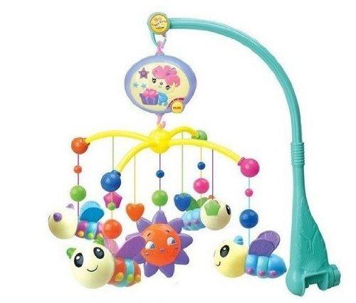 亨力 正品高档电动床铃8802婴儿床铃床头铃宝宝音乐转转乐婴儿床铃玩具-图片