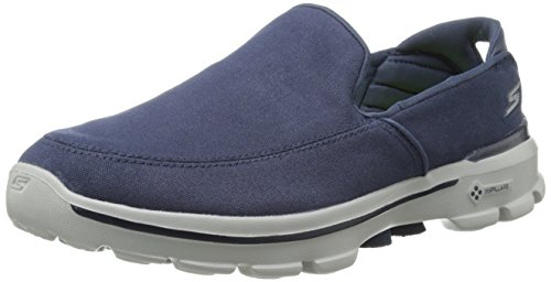 Skechers Performance Men's Go Walk 3 Attain Slip-On Walking Shoe, Navy, 13 M US