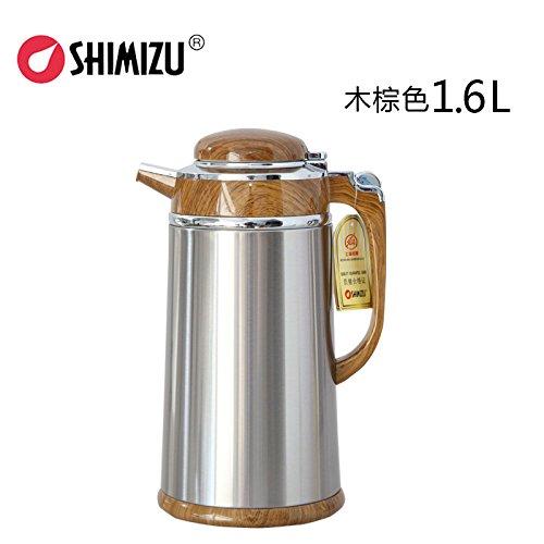 清水保温壶 玻璃内胆保温瓶 办公咖啡壶 家用暖壶不锈钢热水瓶sm-3192图片