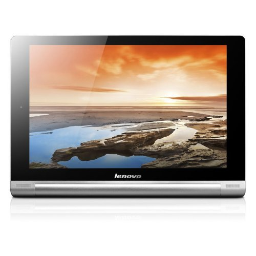 Lenovo 联想 Yoga Tablet B8000 10.1英寸平板电脑(1.2G主频 1GB内存 16GB存储 蓝牙 802.11bgn 前后摄像头 GPS 内置重力感应器 光线感应器 指南针 霍尔传感器 10点触摸屏 Android 4.2 铂银色)-图片