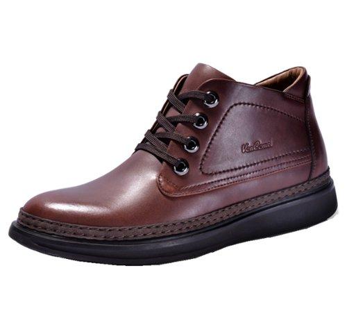 VanCamel西域骆驼 英伦正装时尚皮鞋 户外短靴款 抗拉耐用 头层牛皮 真皮内里 经典男皮鞋