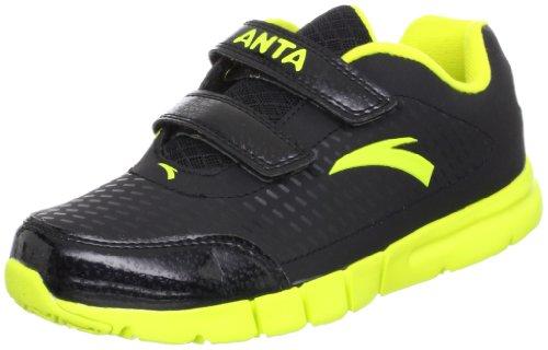 ANTA 安踏 跑步系列 男童 跑步鞋 黄绿/黑色 35 31245516-3