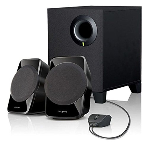 Creative 创新 SBS A120 2.1声道多媒体音箱(黑色)-图片