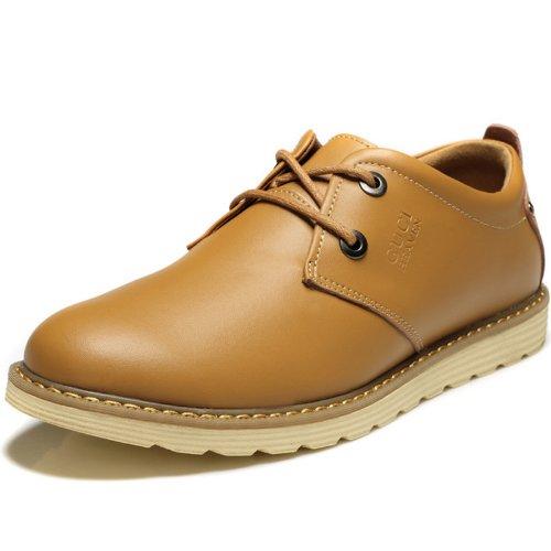 Guciheaven 古奇天伦 商务休闲鞋 新款英伦男士低帮时尚潮流真皮鞋子549