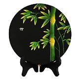 绿之源 活性炭雕 竹(送长辈 祝寿礼品 家居活性炭雕 工艺品 礼盒装)-图片