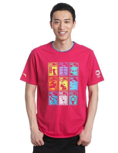 ANTA 安踏 奥运系列 男式 短袖T恤 15220144