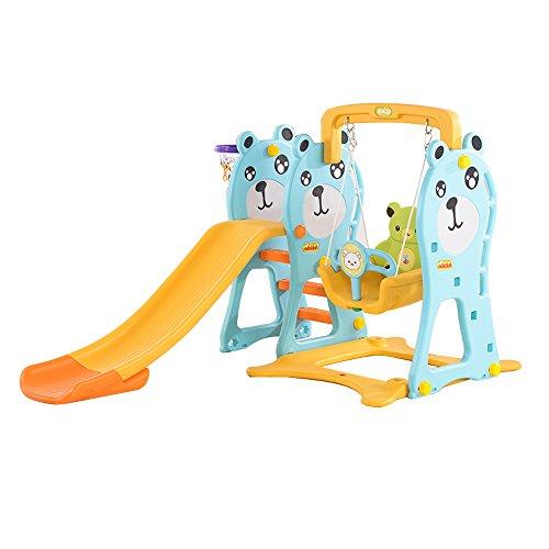 多功能 家用滑滑梯 儿童室内婴儿玩具 宝宝摇摇椅玩具 (多功能三合一