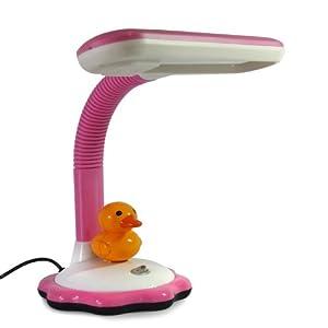 系列学习读书小台灯 小孩床头灯 可调节高度sn-6010 (可爱粉 小鸭子)