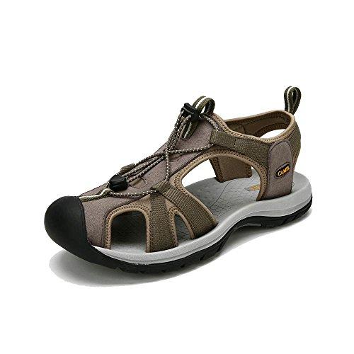 Camel 骆驼 户外沙滩鞋 春夏新款男士透气防滑凉鞋 耐磨轻便沙滩鞋