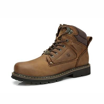 Camel 骆驼 男鞋 秋冬新款 户外时尚霸气休闲 男士马丁靴 登山靴 82350600