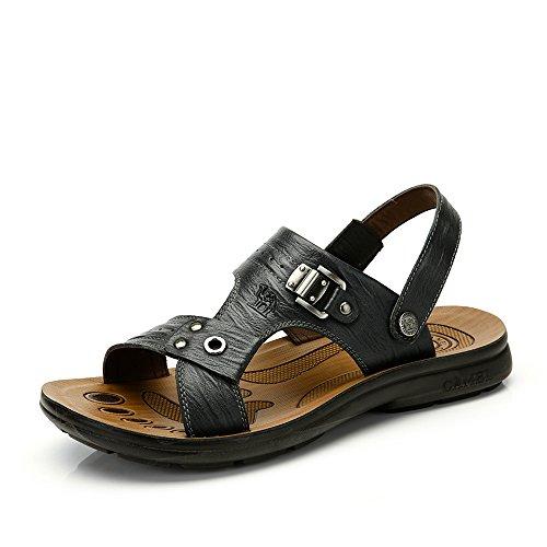 Camel 骆驼 男鞋 夏季新款正品沙滩 男士鞋子轻质舒适沙滩鞋时尚休闲鞋A422211022