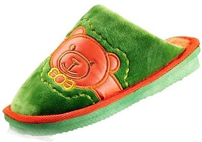 色棉拖鞋子防滑地板拖鞋