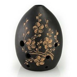 刊易 陶埙 黑陶埙 八孔埙 古埙 古典风情乐器