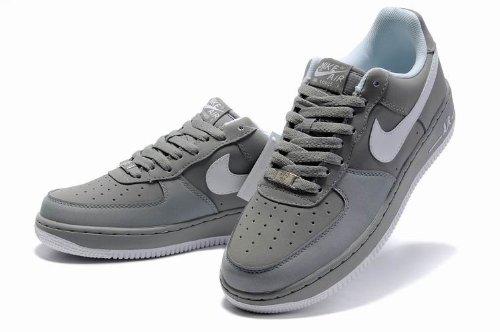 NIKE 耐克 最新款空军 男士休闲运动鞋 跑步休闲鞋 户外鞋 至尊灰白