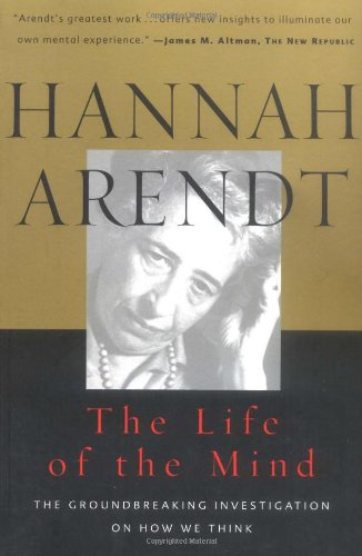汉娜·阿伦特《心智生活》