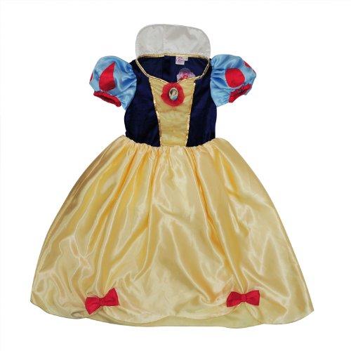 迪士尼 白雪公主花园舞会裙子 5-6岁 赠送发夹和爱丽儿公主手提袋各一
