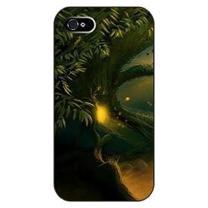 彩绘设计系列之:大树/夜晚 iphone 5/5s