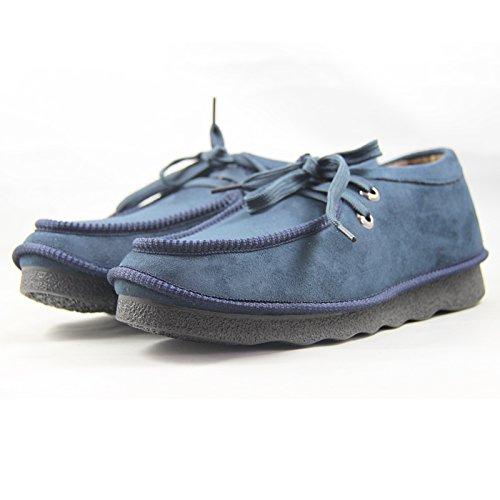 玉兰老北京布鞋 男款防滑超轻底冬季新款系带休闲鞋1616-116