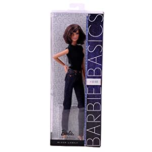 Barbie芭比娃娃-珍藏版芭比简约牛仔系列 T5143T7746