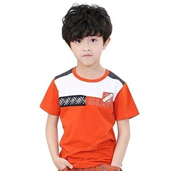 koo 扣儿 童装男童白色t恤 少年夏装12-15岁 大童男装