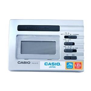 CASIO 卡西欧 CLOCKS-DIGITAL系列 电子闹钟 DQ-541D-8RDF