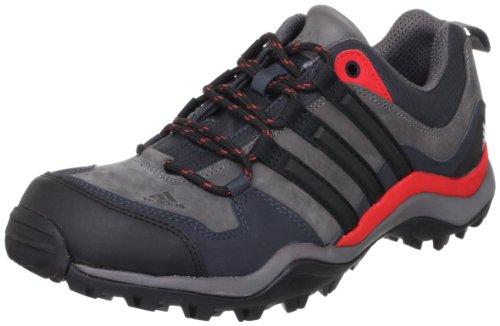 adidas 阿迪达斯 HIKING / TREKKING KUMACROSS 男 徒步鞋 Q21013 锐利灰 F11 / 一号黑 / 鲜红 S13 42