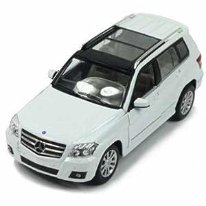 模型玩具 星辉车模奔驰glk-class合金车汽车 1:24 34000 (白高清图片