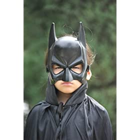 宝宝收藏. 蝙蝠侠眼罩面具,合成材料,柔软舒适. 尺寸: 成人
