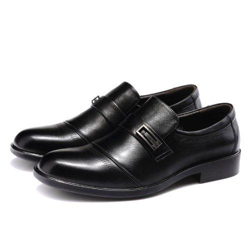 富贵鸟 系带商务休闲鞋 时尚正装鞋 百搭经典皮鞋 真皮工装鞋 英伦简约男鞋