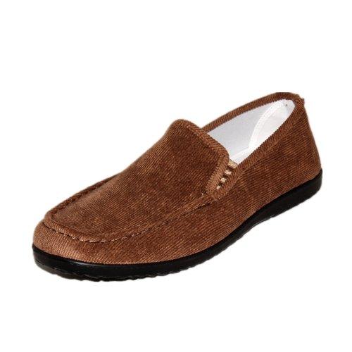 玉兰 老北京 布鞋 男款 条绒 商务休闲鞋1124-287