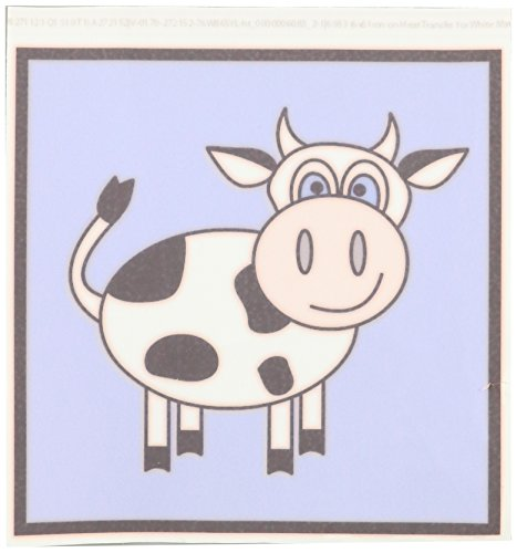 商品3drose llc ht_6083_2 happy cow boy iron图片
