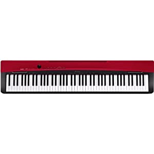 CASIO 卡西欧 电钢琴 PX-130RD单琴主机 红色 送琴罩 卡西欧电钢琴PX-130