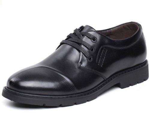 Mulinsen 木林森 英伦系带复古商务休闲鞋 时尚经典简约舒适正装皮鞋 低帮百搭工装鞋 男鞋