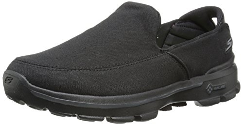 Skechers Performance Men's Go Walk 3 Attain Slip-On Walking Shoe, Black, 11 M US