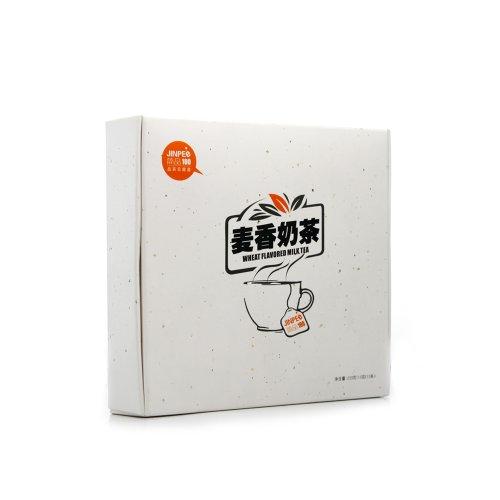 简品100 麦香奶茶 225g 15条/盒 细腻润滑 悠闲午后必备茶品-图片