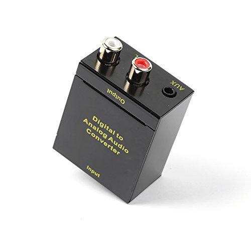 优联 数字光纤/同轴转模拟音频转换器apple tv3 乐视电视 ps4光纤转换