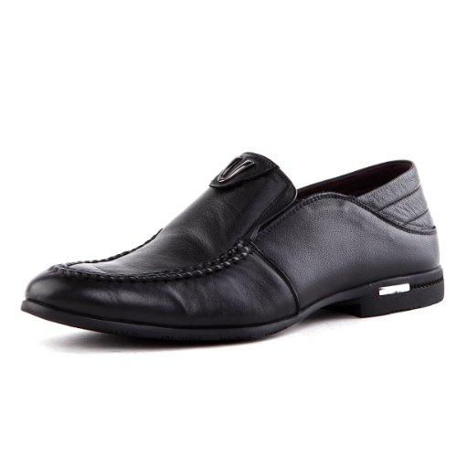 Tony Johnson/托尼琼斯 秋季新品透气牛皮商务休闲套脚男士皮鞋 Q5963287