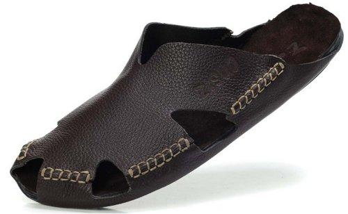 Z.SUO 都市时尚包头拖鞋 简约舒适时装凉拖 沙滩鞋 潮流个性男鞋 11605