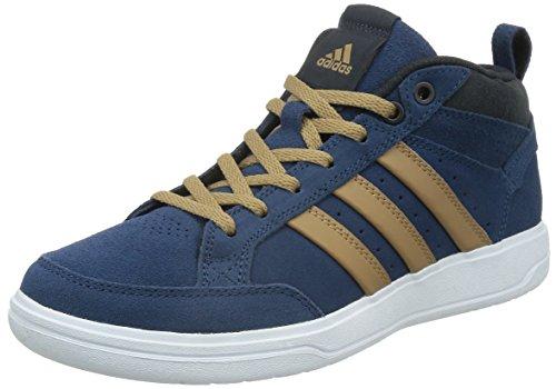 adidas 阿迪达斯 TENNIS CULTURE 男 网球鞋oracle VI STR mid  M25421 富贵蓝 F14/纸板黄/夜空灰 39.5 (UK 6-)