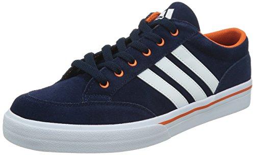 adidas 阿迪达斯 TENNIS CULTURE 男 网球鞋GVP SUEDE  M17975 学院藏青蓝/白/橙黄 43 (UK 9)