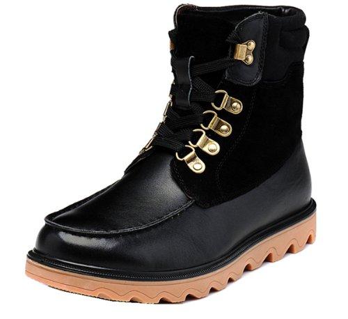 Fuguiniao 富贵鸟 英伦工装保暖靴 马丁靴 优质纳帕皮 猪皮内里 保暖绒毛 加毛鞋垫 牛筋鞋底 保暖男靴