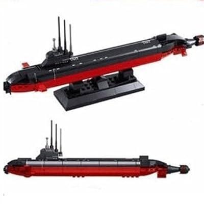 乐高式拼装积木核潜艇
