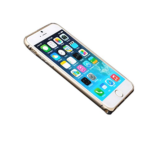 【防弯必备】桃核iphone6plus手机壳v桃核壳保护套超薄苹果金属纯手工边框雕刻图片