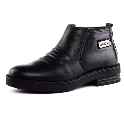 Tony Johnson/托尼琼斯 冬季新品真皮舒适保暖中帮男式皮靴 D6963405