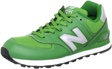 New Balance 新百伦 男 休闲运动鞋 ML574GC 綠茶色,銀,黑 40