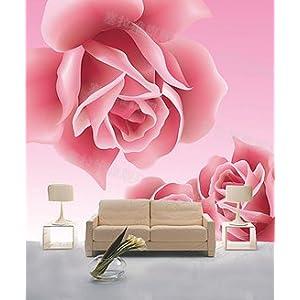 CESELAVIE 塞拉维 现代简修风格 对角玫瑰电视沙发背景墙 卧室大型