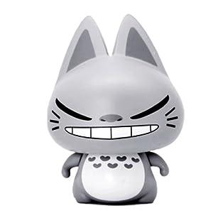 《zhuaimao 拽猫 2012创意礼物 超萌 超个性玩偶 龙猫灰》