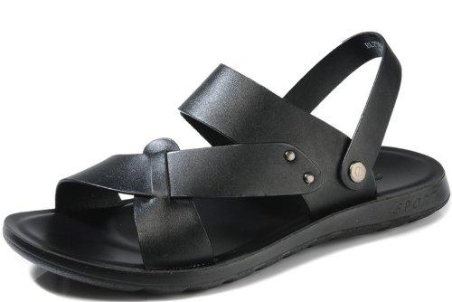 Camel Active骆驼动感 男鞋 夏季新款英伦潮人鞋拖鞋 防滑速干鞋 透气凉鞋真皮沙滩拖鞋